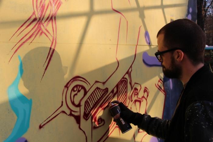 Kanos Porte Dorée Street Art