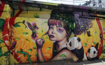 Un été street art au canal de l'Ourcq