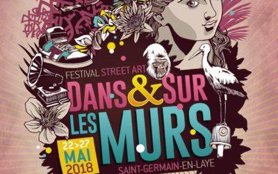 Festival de street-art : «Dans et sur les murs» Saint-Germain-en-Laye