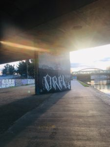 Pont de bondy projet street art Batsh