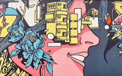 Kanos street art OSARO Paris