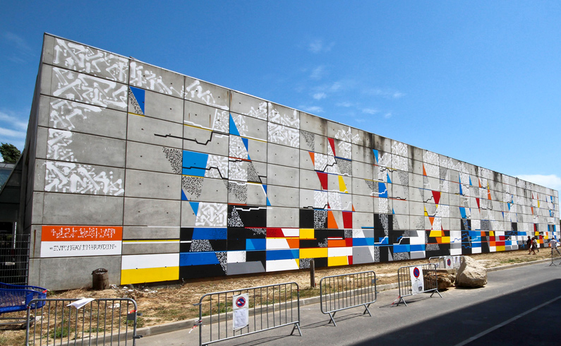 LEK street art wall murale événementiel agence Paris