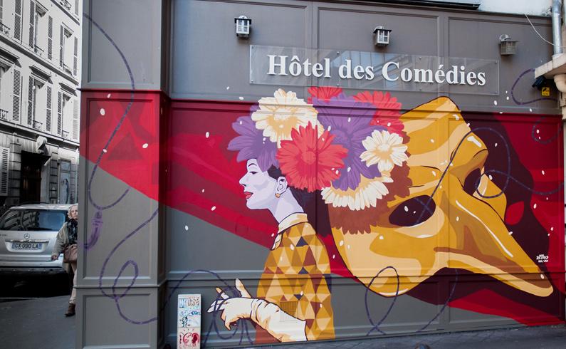 retro street art paris agence artistique événementiel osaro